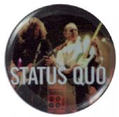 Status Quo - 'Rick and Francis Stage' Button Badge